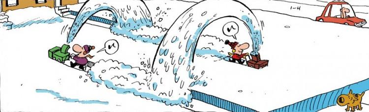 Картинка  про снег