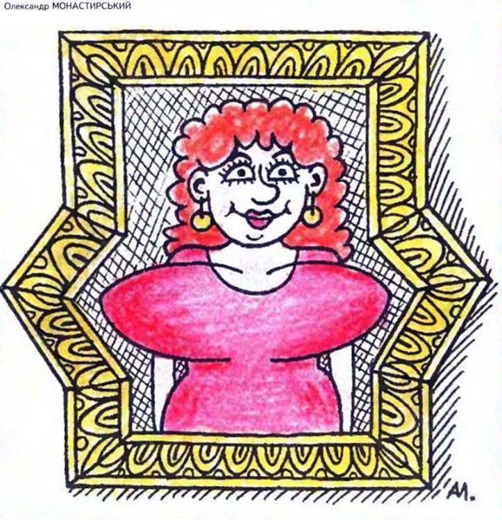 Картинка  про картины и женскую грудь