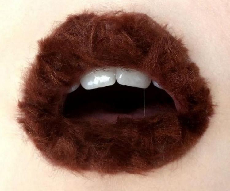Фото прикол  про губы