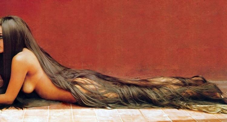 Фото прикол  про волосы, девушек, эротику пошлый