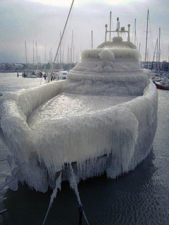 Фото прикол  про лед