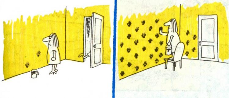 Картинка  про ремонт и краску