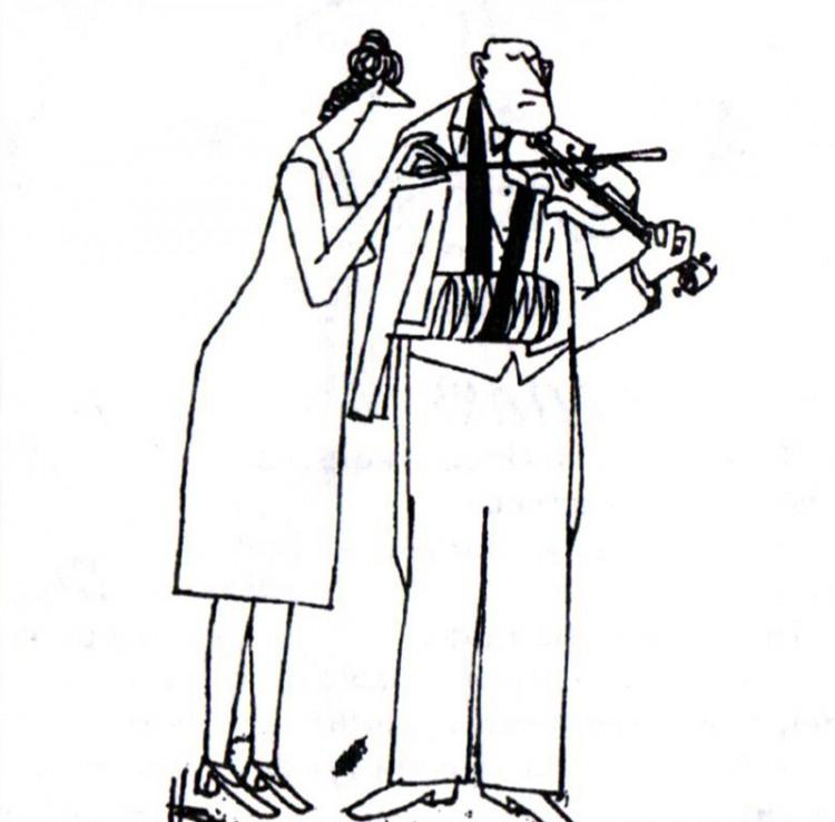 Картинка  про скрипку