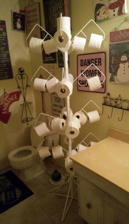 Фото прикол  про туалет и туалетную бумагу