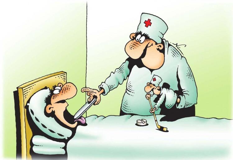 Картинка  про докторов и таблетки
