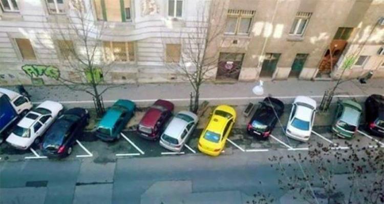 Фото прикол  про парковку