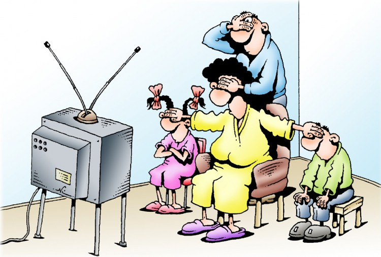 Картинка  про телевизор