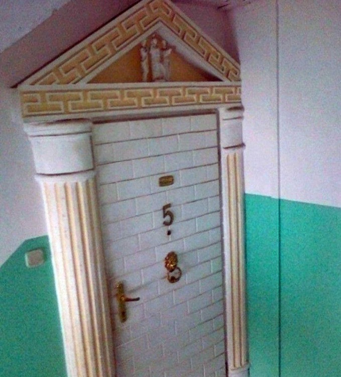 Фото прикол  про дверь